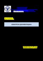 Konkursna dokumentacija JNMV 21 2018 TEHNICKI PREGLED SKOLE I AMBULANTA