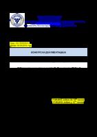 KONKURSNA DOKUMENTACIJA JNMV: 23/2018