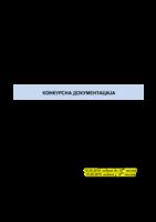 KONKURSNA DOKUMENTACIJA JN 2-2019