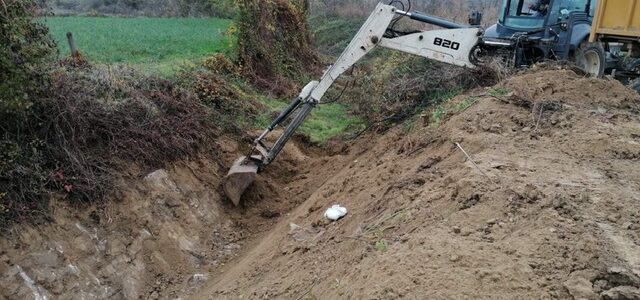 Санација бујичних потока – обезбеђивање протицајног профила бујичних потока у општини Жабари 10